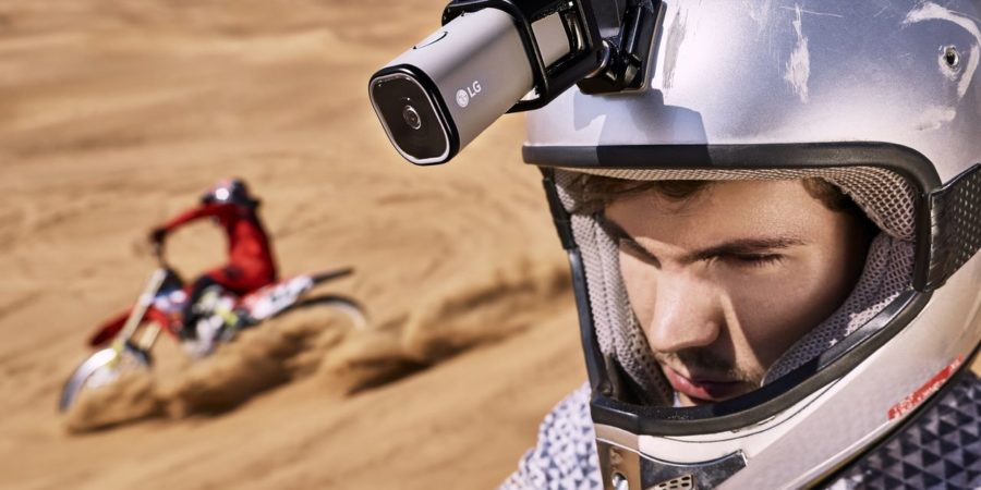 LG Action CAM LTE: live streaming action camera