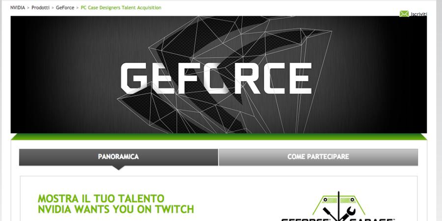 """Nvidia lancia l'iniziativa """"Mostra il tuo talento"""""""