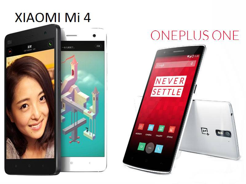 OnePlus One vs Xiaomi Mi4