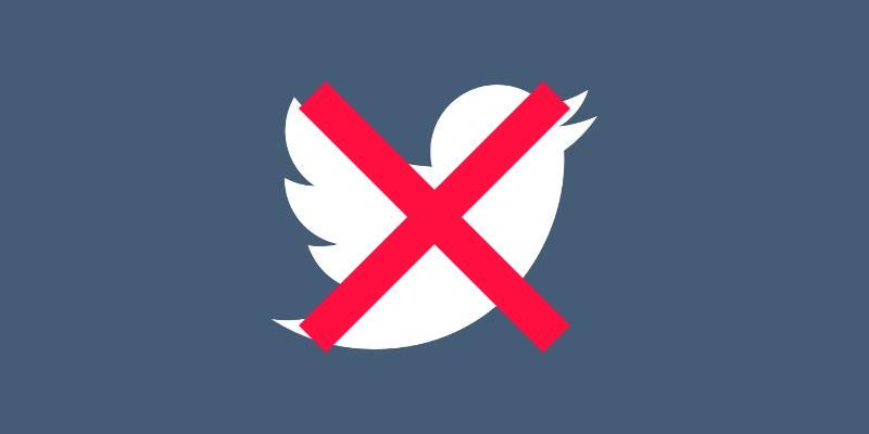 Come cancellarsi da Twitter: guida in italiano