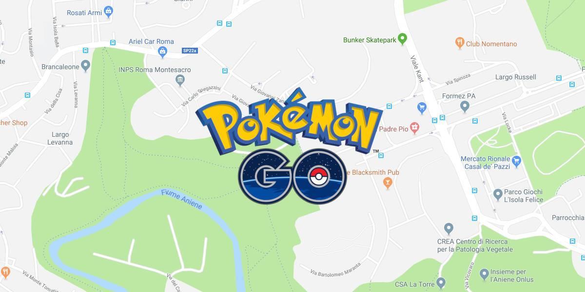Mappa Pokémon Go