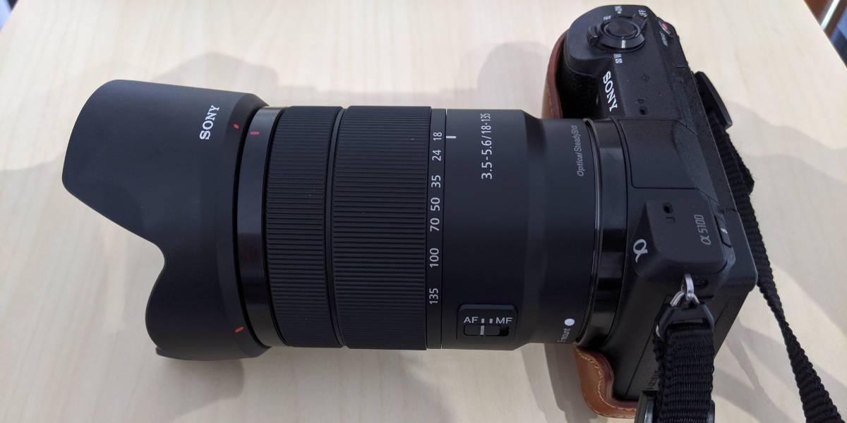Sony 18 - 135 mm f/3,5-5,6 nuovo usato