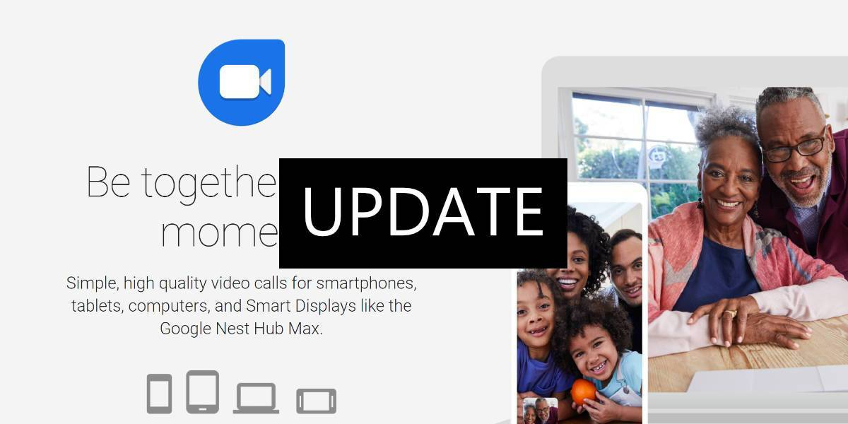 Update Google Duo