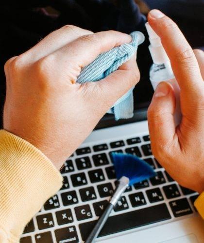 Pulizia del PC portatile