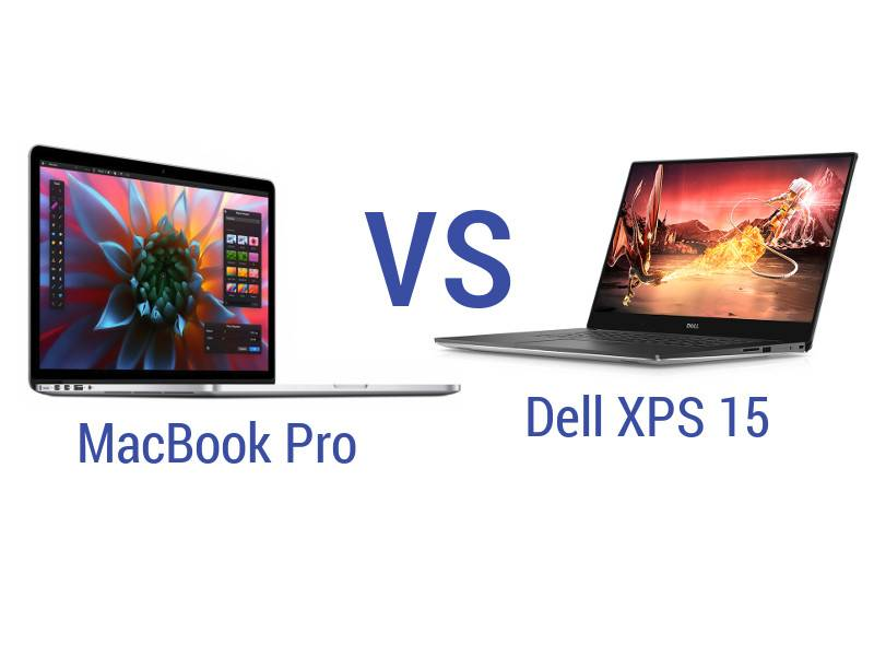 Dell XPS 15 vs MacBook Pro