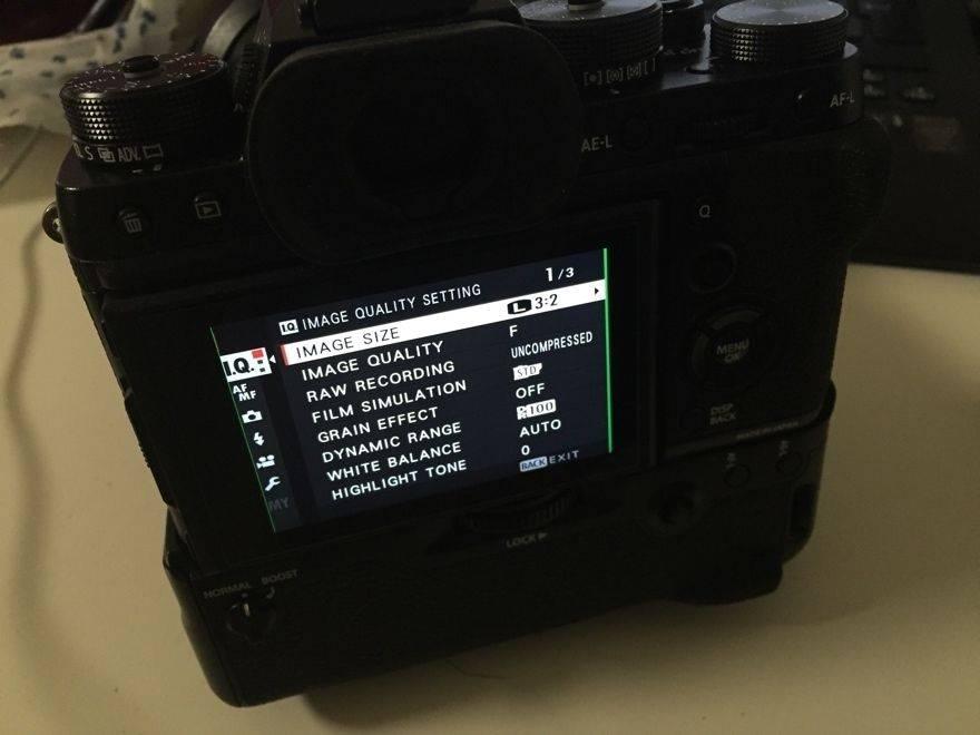 Fuji-X-T2-camera-LCD-screen