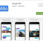 Google Allo su Play Store