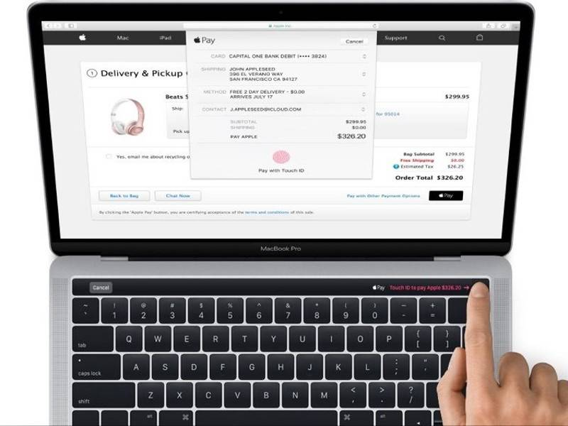 MacBook Pro con Touch ID