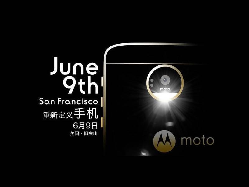 Motorola Moto Z presentazione 9 Giugno