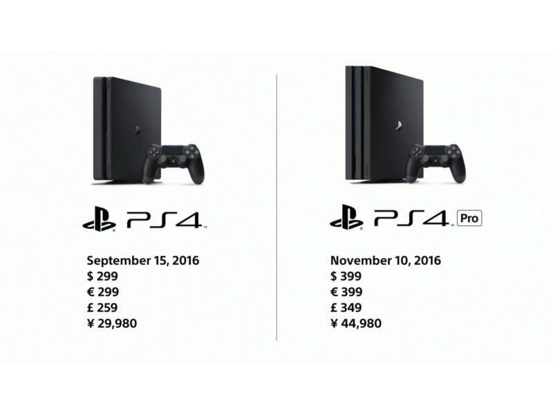 E' ufficiale la nuova PlayStation PS4 Pro con 4k e HDR