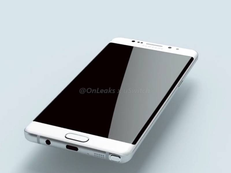 Samsung Galaxy Note 7 – Render by OnLeaks