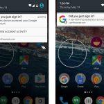Nuove notifiche di sicurezza per Android