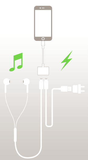 Lightning Audio + Charge RockStar per iPhone 7 e iPhone 7 Plus