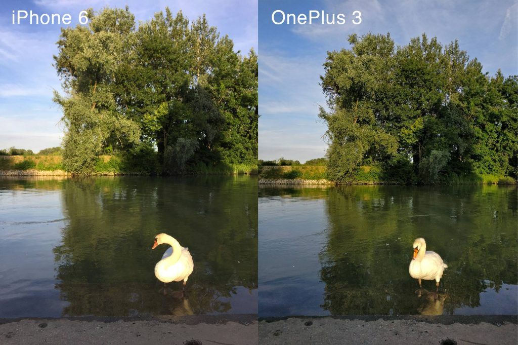 iPhone 6 vs OnePlus 3