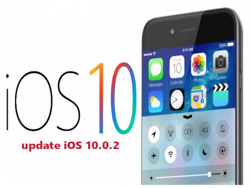 Apple rilascia iOS 10.0.2 e iOS 10.1 beta