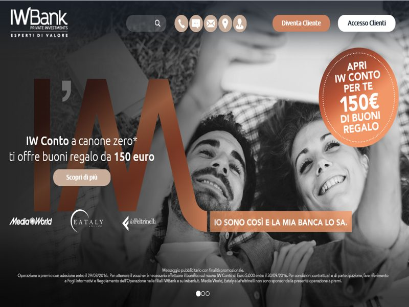 IWBank regala 150€