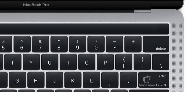 Magic Toolbar MacBook Pro