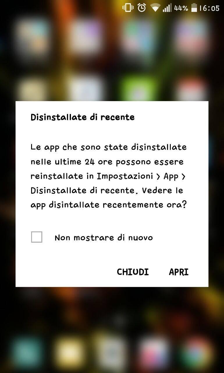 LG G5 software - screenshot