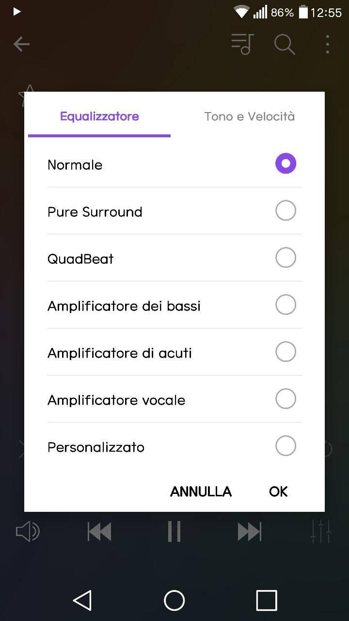 LG G5 audio - recensione