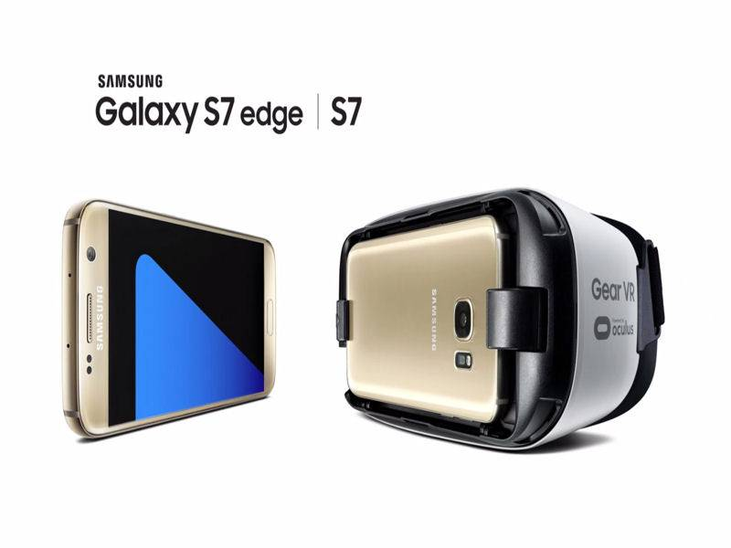 Samsung Galaxy S7 – Gear VR