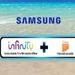 Promo Samsung: Porta lo spettacolo in vacanza